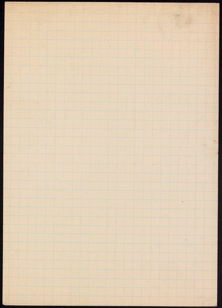 Howard Putzel Blank card (large view)