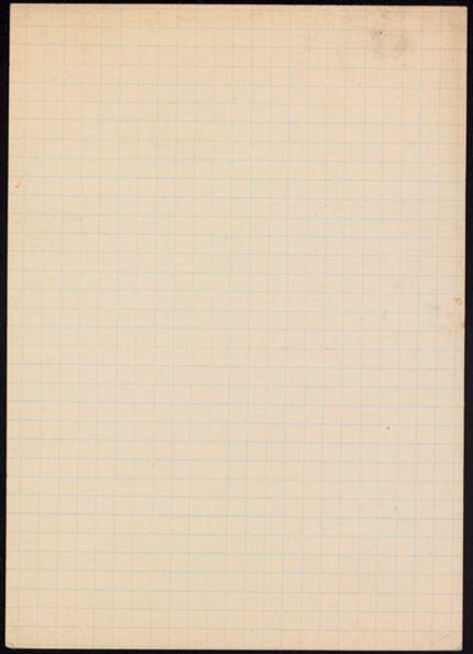 Howard Putzel Blank card
