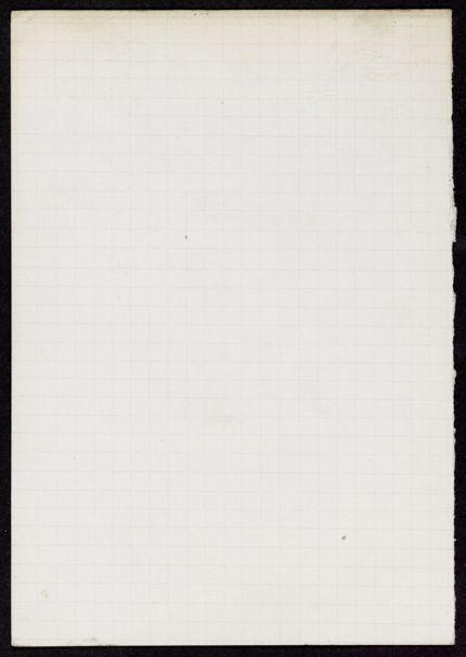 Thomas Scudder Blank card