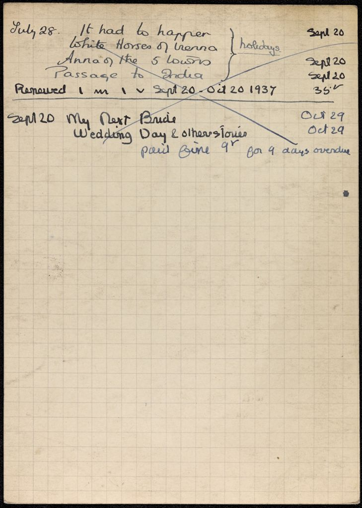 Nicole Thellier de Poncheville 1937 card (large view)