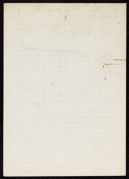 David Willard Blank card