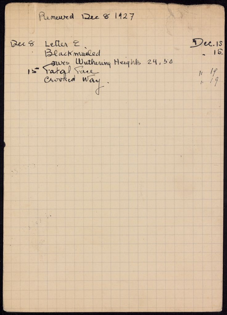 Raymonde Linossier 1927 card (large view)