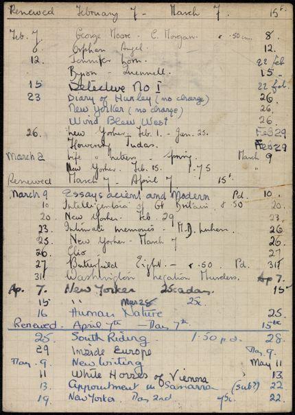 Agnes Claudius 1936 card