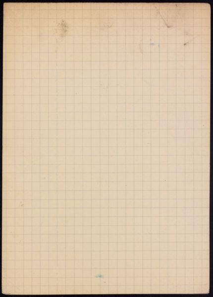 Jacques Porel Blank card