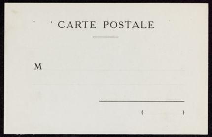Henriette de Margerie Blank card