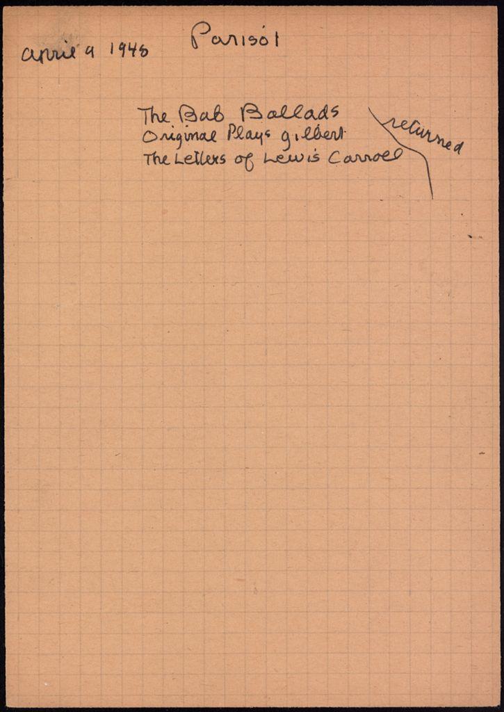 Parisot 1948 card (large view)