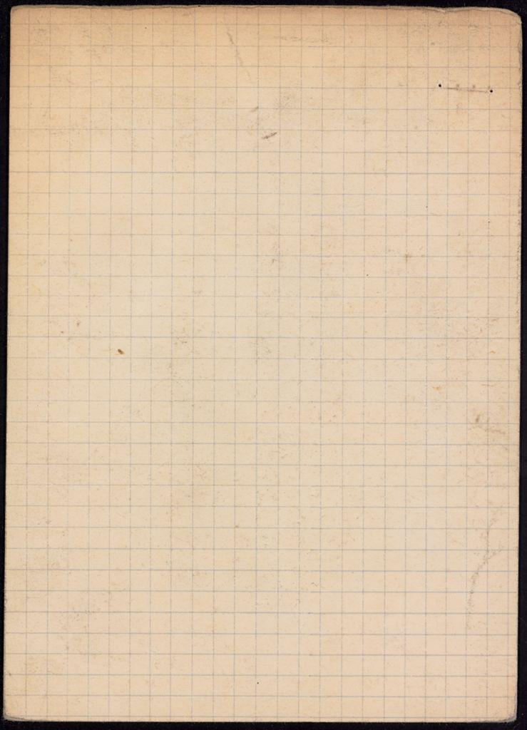 Eyre de Lanux Blank card (large view)