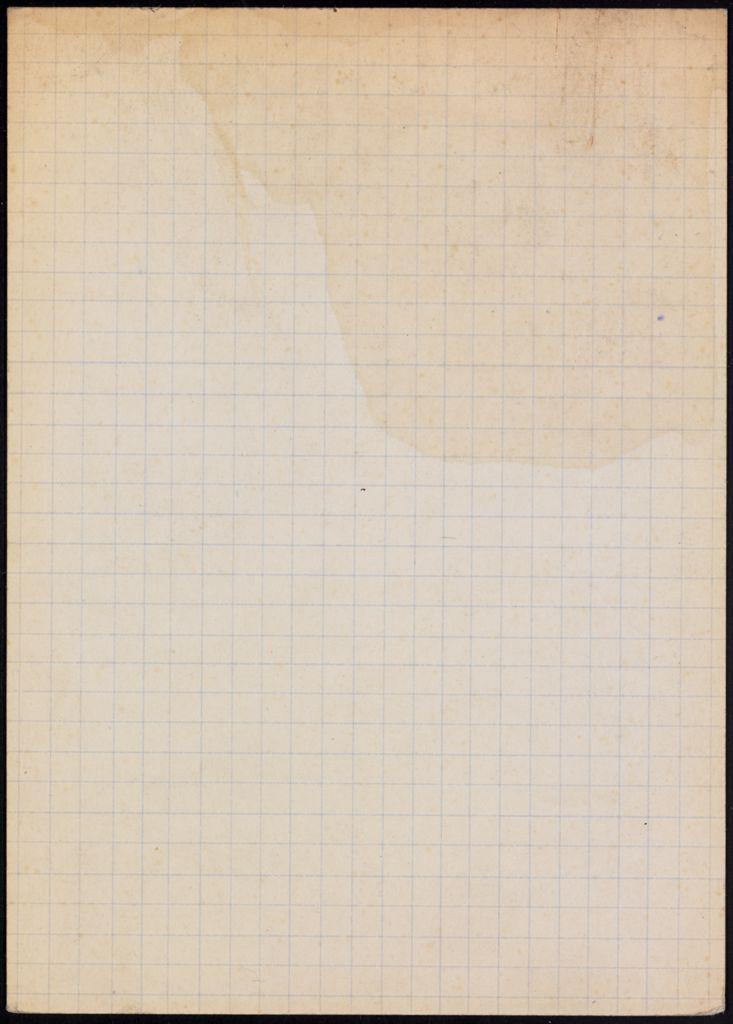 Douglas Orbison Blank card (large view)