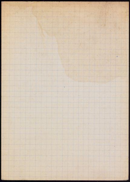 Douglas Orbison Blank card
