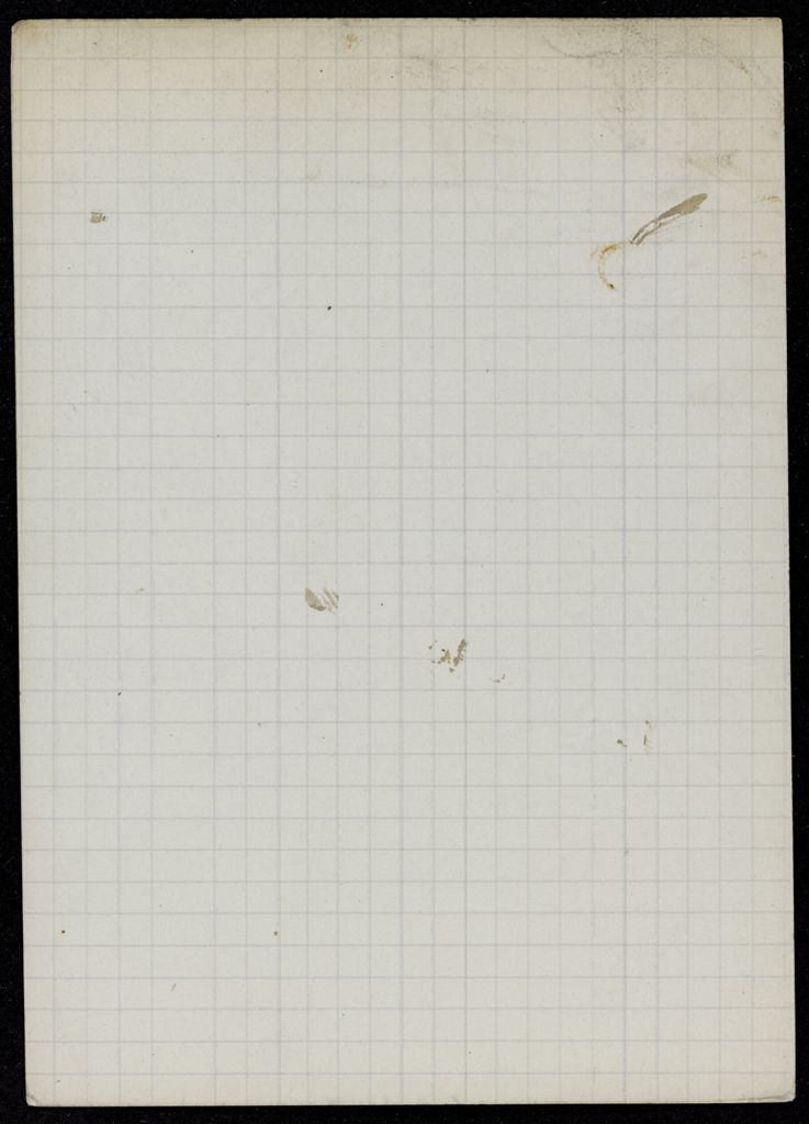 Ernest Walsh Blank card (large view)