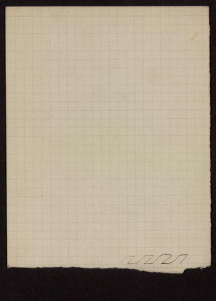 Miss Roberts Blank card