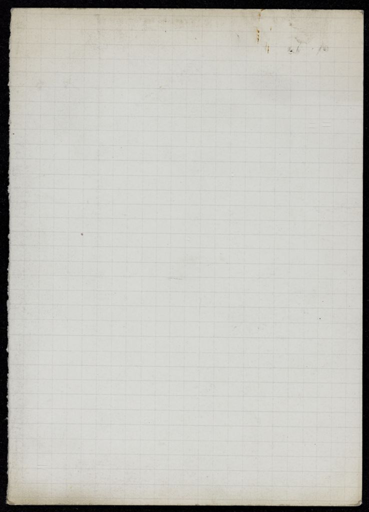 Ann van Vechten Blank card (large view)