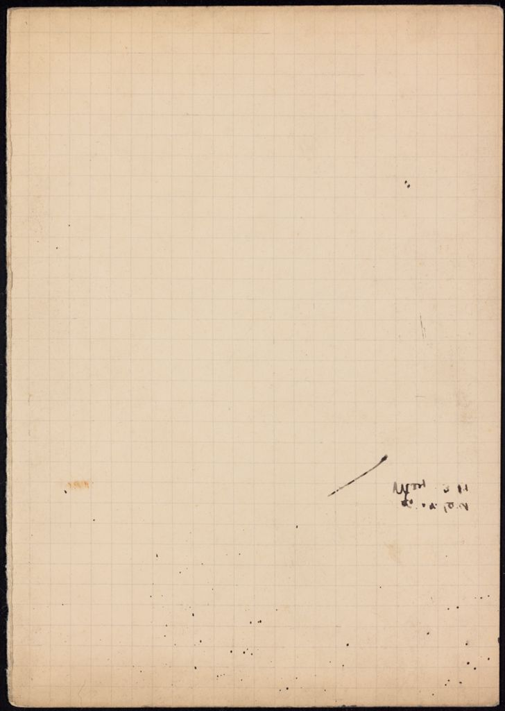 Max Eastman Blank card (large view)