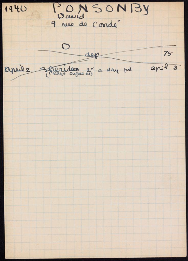 David Ponsonby 1940 card (large view)