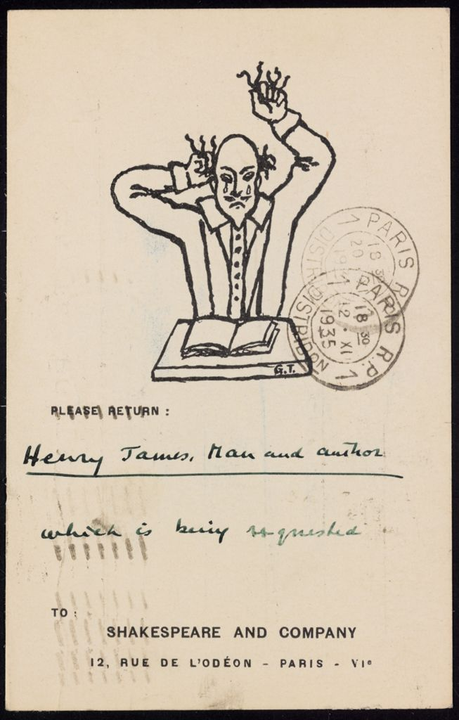 Mrs. John Goodwin 1935 card (large view)