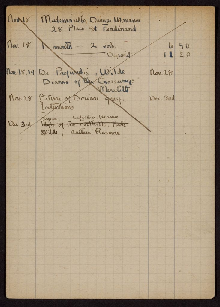 Denise Ulmann 1919 card (large view)