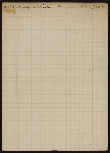 John Kingsley Rooker 1925 card