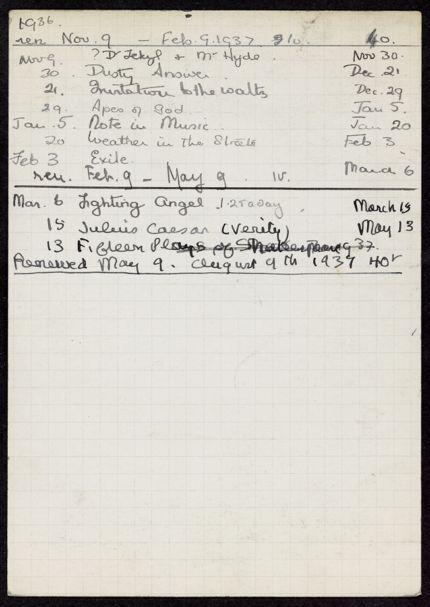 Eric Delimal 1936 – 1937 card