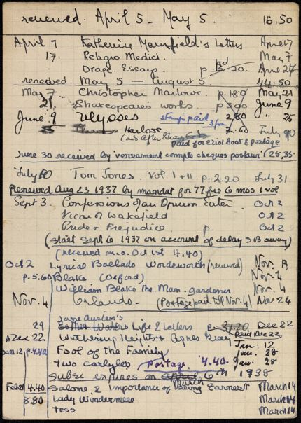 Ella Cassaigne 1937 – 1938 card