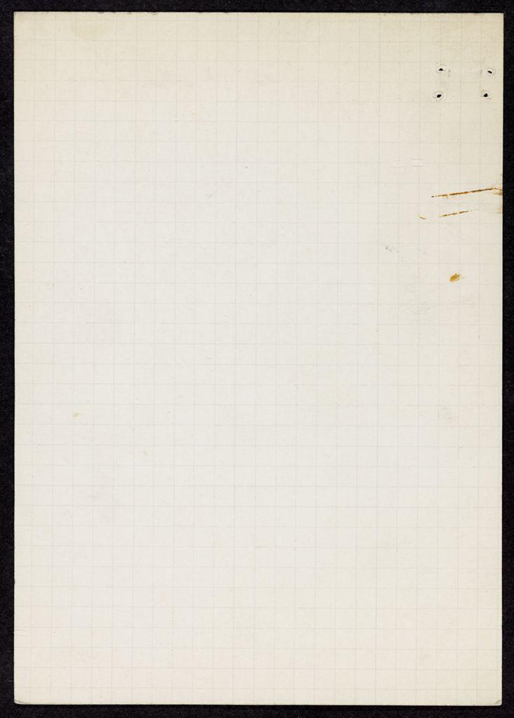 David Willard Blank card (large view)