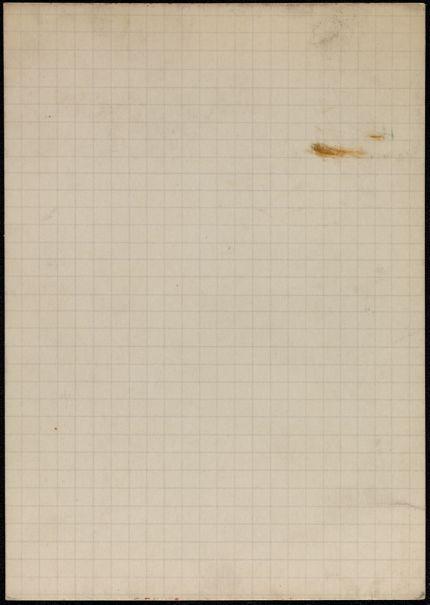 Claude Bourdet Blank card