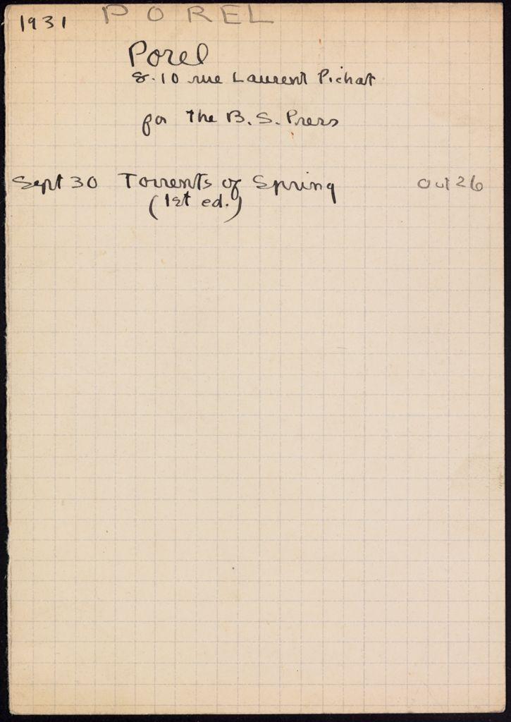 Jacques Porel 1931 card (large view)