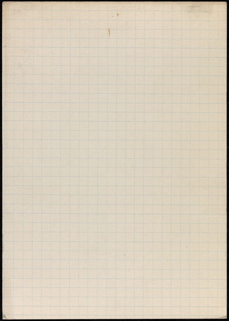 Agnes Claudius Blank card (large view)