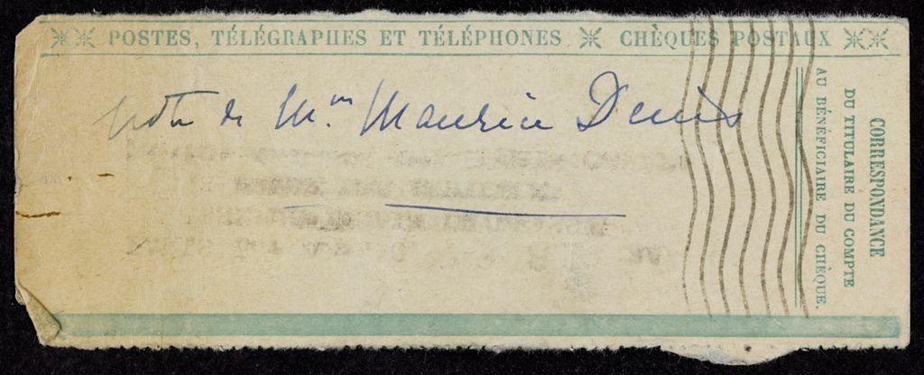 Elisabeth Denis-Graterolle Blank card (large view)