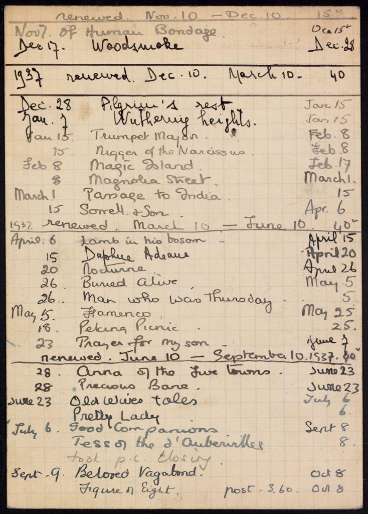 Paul Gerbault 1936 – 1937 card (large view)