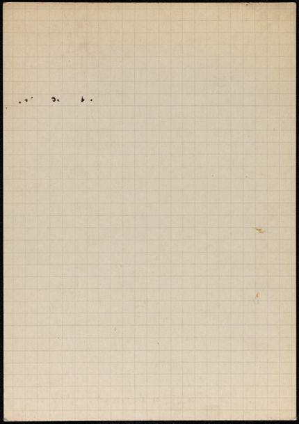 Jean Buratti Blank card
