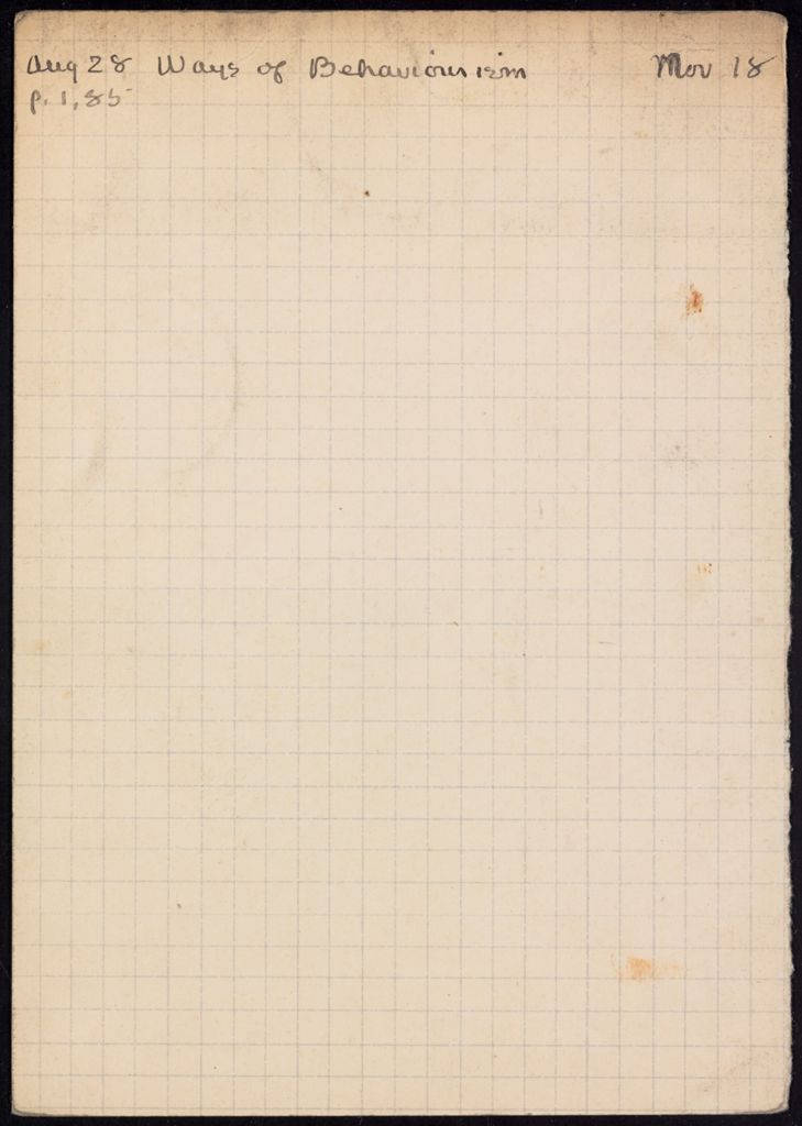 Stuart Gilbert 1931 card (large view)