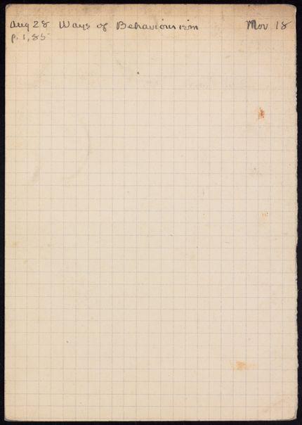 Stuart Gilbert 1931 card