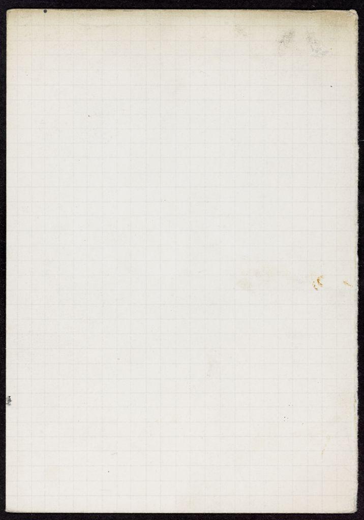 J. D. Milward Blank card (large view)