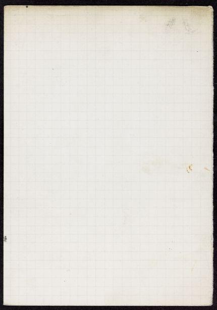 J. D. Milward Blank card