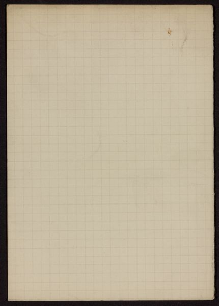 W. E. Ullmann Blank card