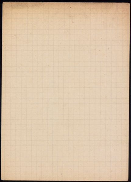 Maurice Oerthel Blank card