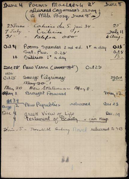 Louis Bonnerot 1934 – 1940 card