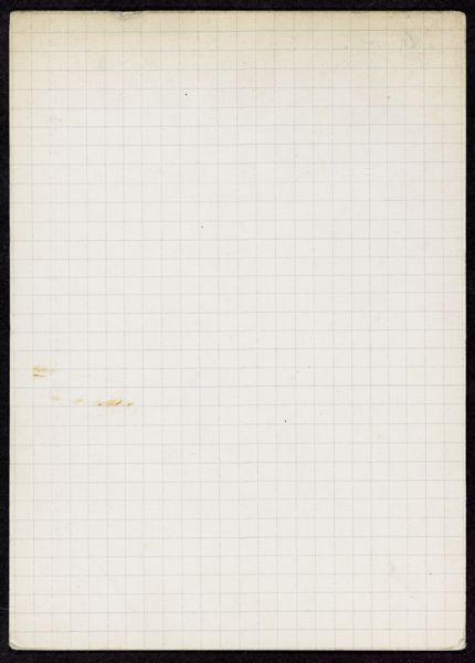 Harry E. Winner Blank card