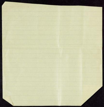 Louis Falquel Blank card