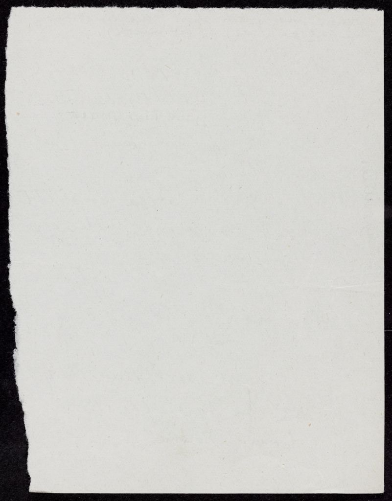 Francis Steegmuller Blank card (large view)