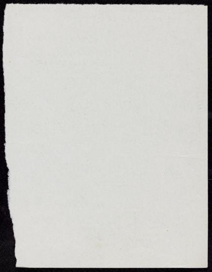 Francis Steegmuller Blank card