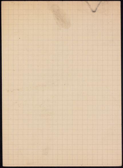 Mlle Pottier Blank card