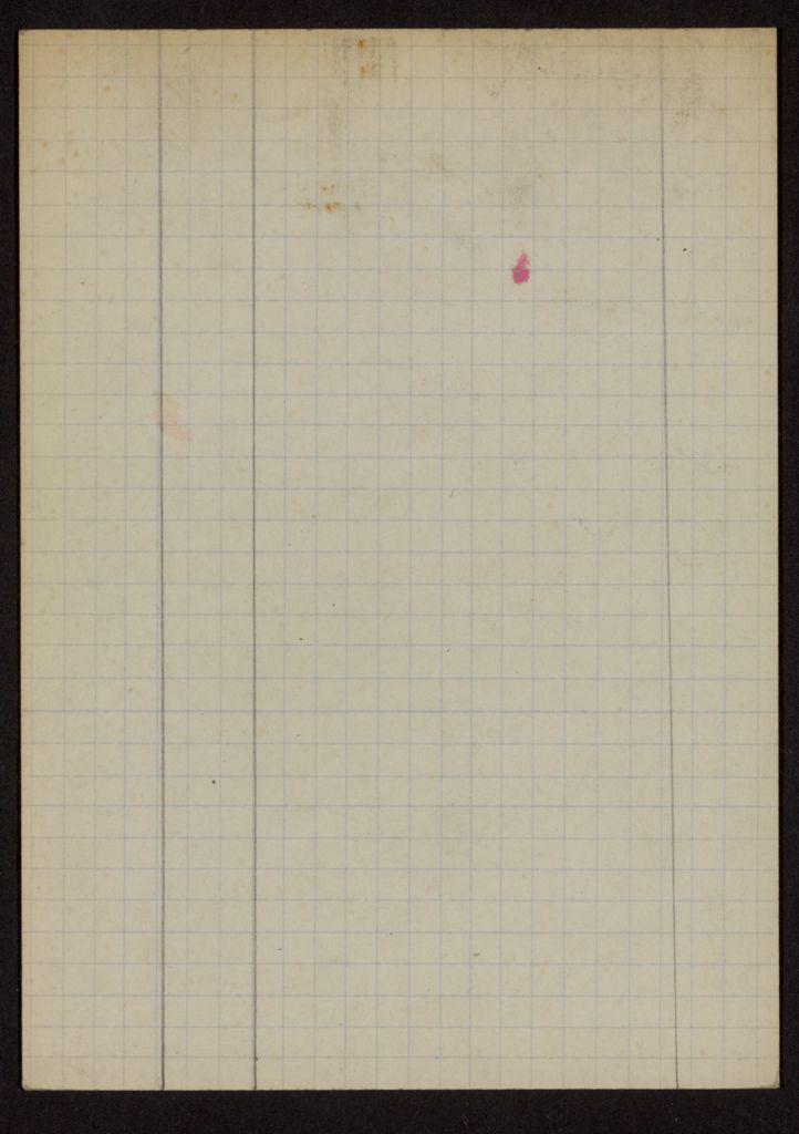 Mme de Treirse Blank card (large view)