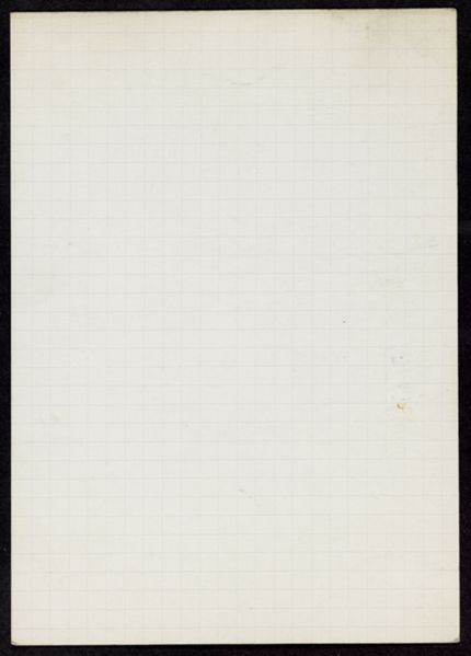 Mlle Sorel Blank card