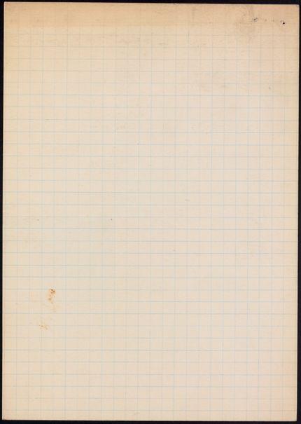 Eugene Pressly Blank card