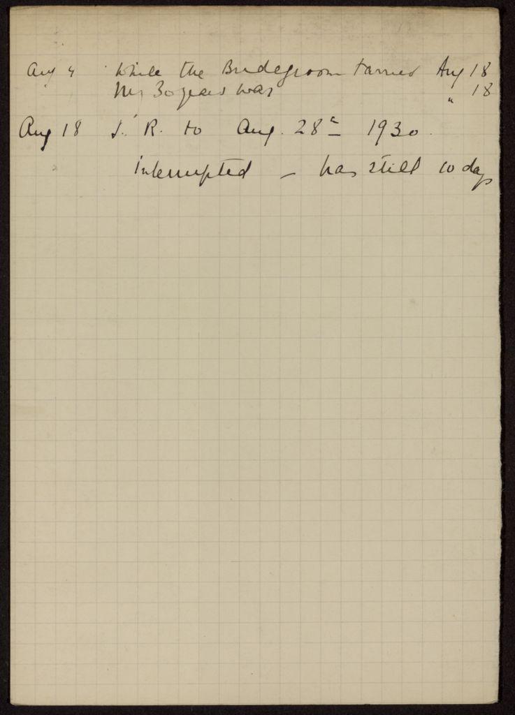 Mrs. P. Richard 1930 card (large view)