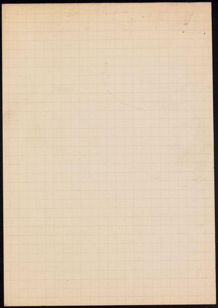 Jean Fourcade Blank card
