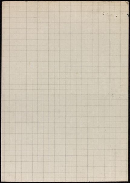 Louis Bonnerot Blank card