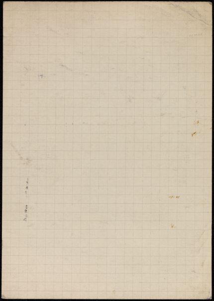 Jean de Cayeux Blank card