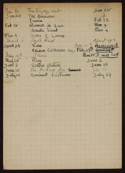 Matilda Rice 1922 card